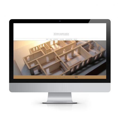 Website: Architekt Maurice Fiedler